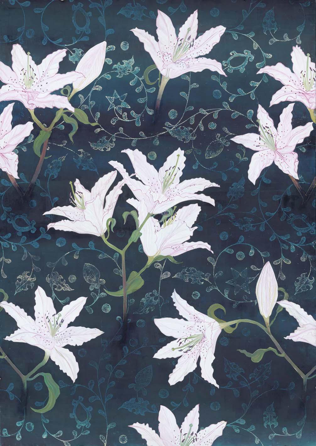 Jacquard Lily