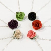 Rosebud Necklaces